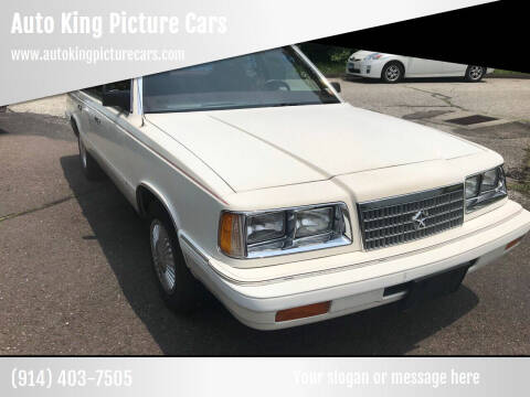 1987 Plymouth Caravelle for sale at Auto King Picture Cars in Westchester County NY