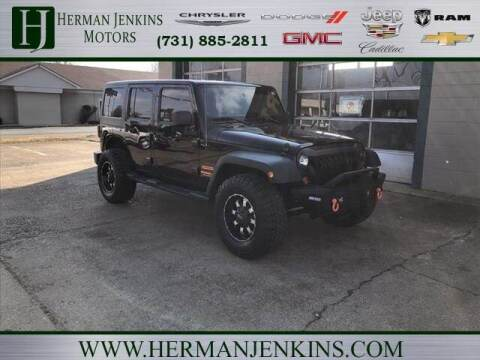 2011 Jeep Wrangler Unlimited for sale at Herman Jenkins Used Cars in Union City TN