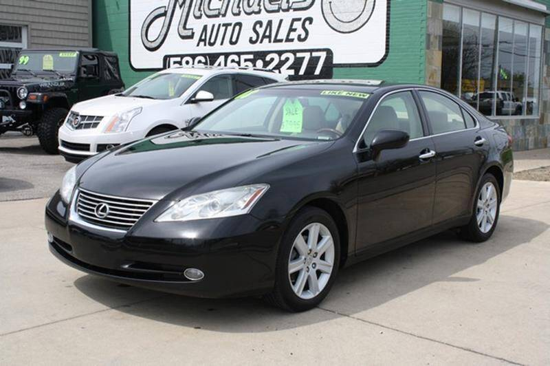 2008 Lexus ES 350 for sale at MICHAEL'S AUTO SALES in Mount Clemens MI