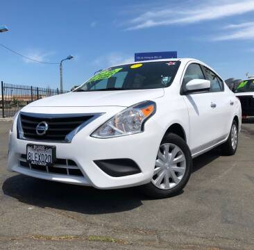 2017 Nissan Versa for sale at LUGO AUTO GROUP in Sacramento CA