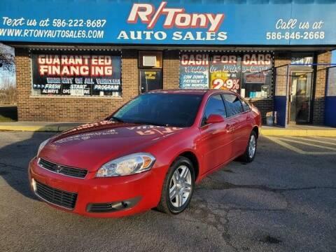 2008 Chevrolet Impala for sale at R Tony Auto Sales in Clinton Township MI