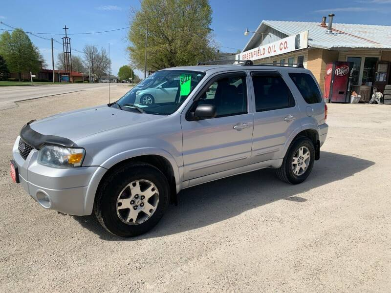 2005 Ford Escape for sale at GREENFIELD AUTO SALES in Greenfield IA