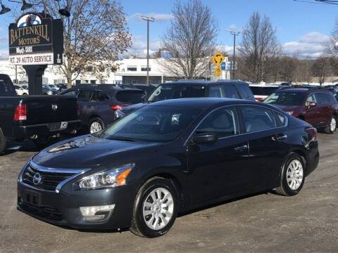 2015 Nissan Altima for sale at BATTENKILL MOTORS in Greenwich NY