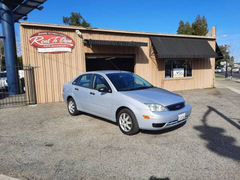 2005 Ford Focus for sale at Rent To Own Auto Showroom LLC - Rent To Own Inventory in Modesto CA