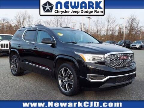 2018 GMC Acadia for sale at NEWARK CHRYSLER JEEP DODGE in Newark DE