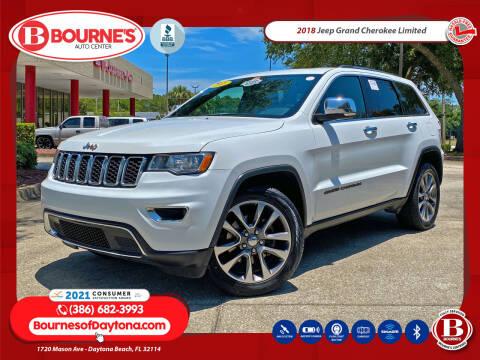 2018 Jeep Grand Cherokee for sale at Bourne's Auto Center in Daytona Beach FL