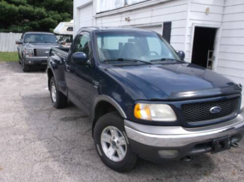 2002 Ford F-150 for sale at M & N CARRAL in Osceola IN