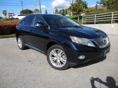 2010 Lexus RX 450h for sale at ARAX AUTO SALES in Tujunga CA