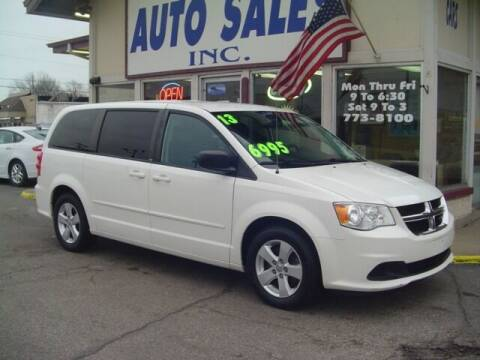 2013 Dodge Grand Caravan for sale at G & L Auto Sales Inc in Roseville MI