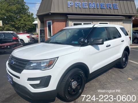 2017 Ford Explorer for sale at Premiere Auto Sales in Washington PA