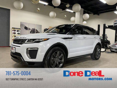 2018 Land Rover Range Rover Evoque for sale at DONE DEAL MOTORS in Canton MA