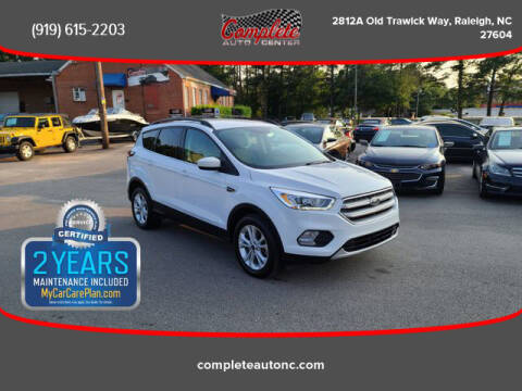 2017 Ford Escape for sale at Complete Auto Center , Inc in Raleigh NC