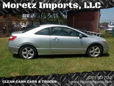 2006 Honda Civic for sale at Moretz Imports, LLC in Spring TX