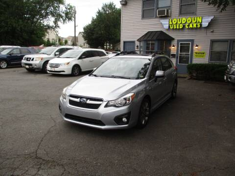 2013 Subaru Impreza for sale at Loudoun Used Cars in Leesburg VA