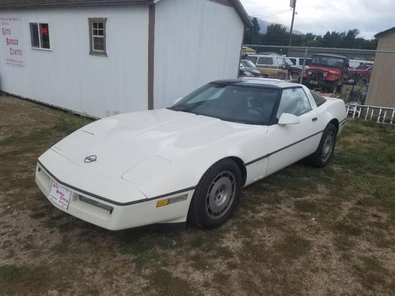 1986 Chevrolet Corvette for sale at AUTO BROKER CENTER in Lolo MT