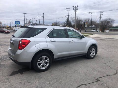 2013 Chevrolet Equinox for sale at BELL AUTO & TRUCK SALES in Fort Wayne IN