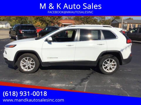 2014 Jeep Cherokee for sale at M & K Auto Sales in Granite City IL