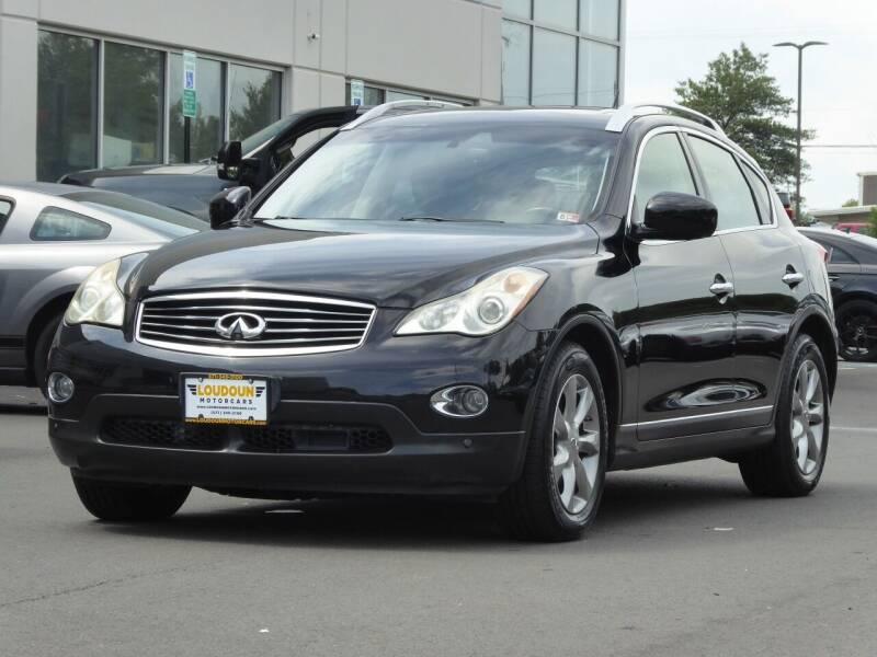 2008 Infiniti EX35 for sale at Loudoun Used Cars - LOUDOUN MOTOR CARS in Chantilly VA