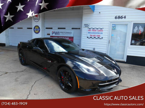2019 Chevrolet Corvette for sale at Classic Auto Sales in Maiden NC