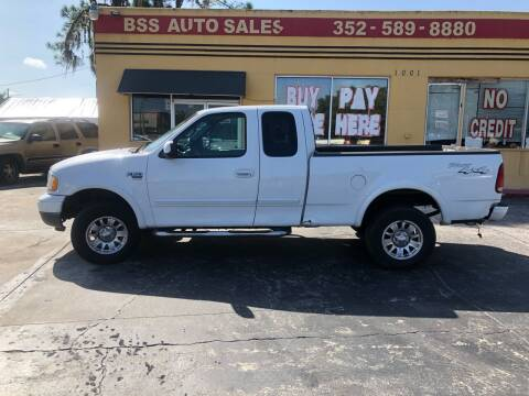 2002 Ford F-150 for sale at BSS AUTO SALES INC in Eustis FL