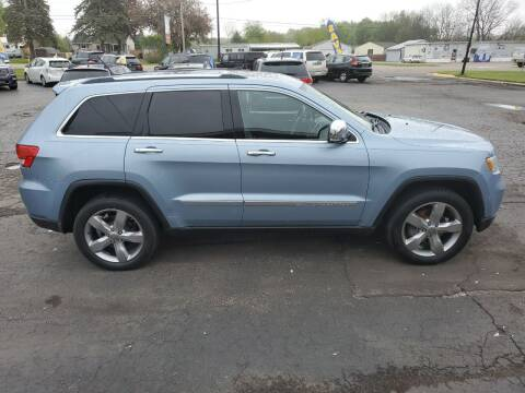 2013 Jeep Grand Cherokee for sale at Drive Motor Sales in Ionia MI