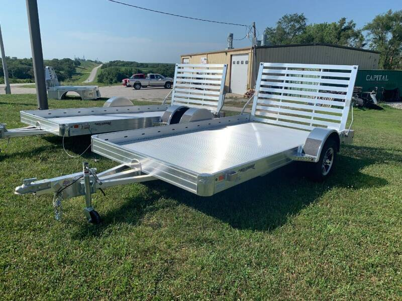 "2021 Hillsboro 12' x 78"" Utility Trailer for sale at Schrier Auto Body & Restoration in Cumberland IA"