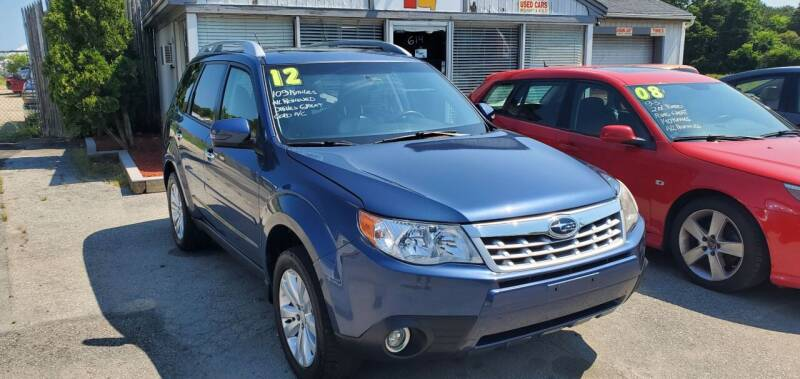 2012 Subaru Forester for sale at Falmouth Auto Center in East Falmouth MA