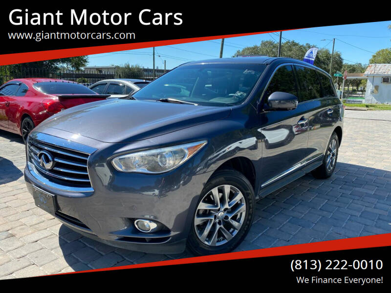 2013 Infiniti JX35 for sale at Giant Motor Cars in Tampa FL