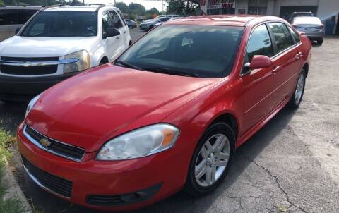 2010 Chevrolet Impala for sale at Right Place Auto Sales in Indianapolis IN