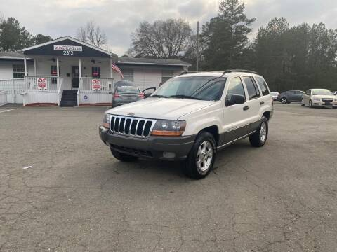 2002 Jeep Grand Cherokee for sale at CVC AUTO SALES in Durham NC