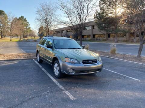 2005 Subaru Outback for sale at QUEST MOTORS in Englewood CO