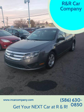 2012 Ford Fusion for sale at R&R Car Company in Mount Clemens MI