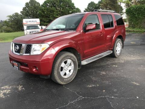 2007 Nissan Pathfinder for sale at EAGLE ROCK AUTO SALES in Eagle Rock MO