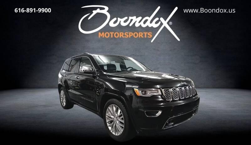 2018 Jeep Grand Cherokee for sale at Boondox Motorsports in Caledonia MI