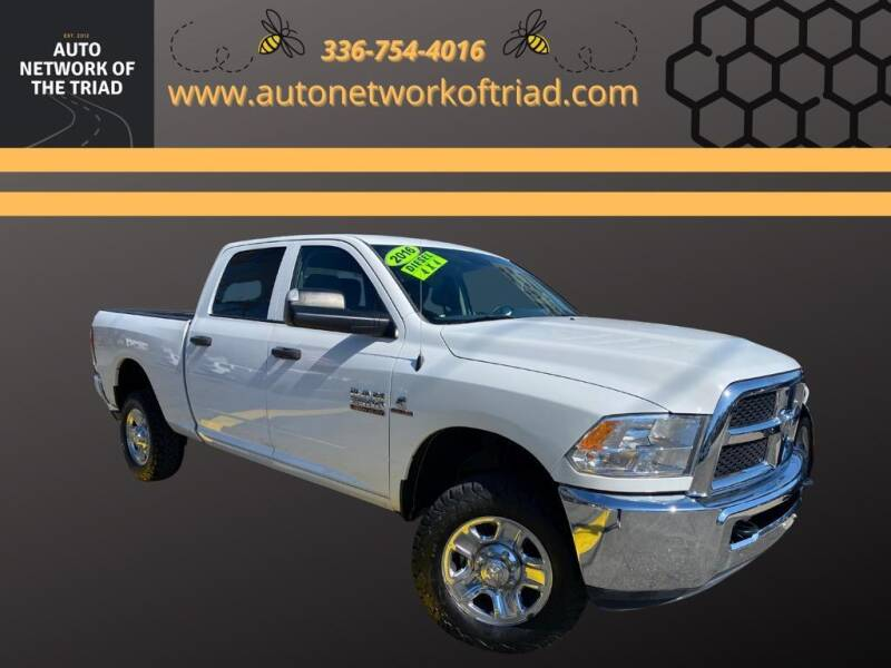 2016 RAM Ram Pickup 2500 for sale at Auto Network of the Triad in Walkertown NC