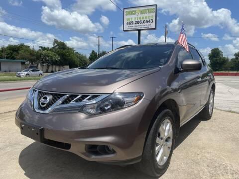 2014 Nissan Murano for sale at Shock Motors in Garland TX