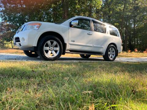 2008 Nissan Armada for sale at Madden Motors LLC in Iva SC