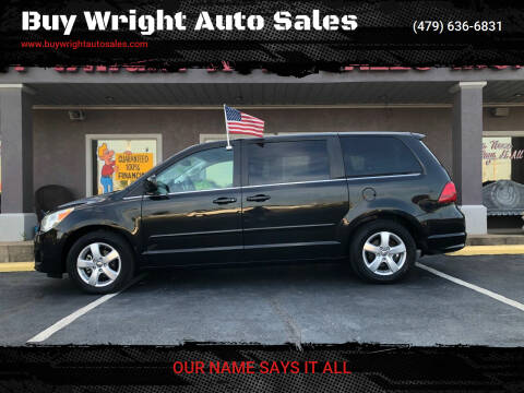 2010 Volkswagen Routan for sale at Buy Wright Auto Sales in Rogers AR