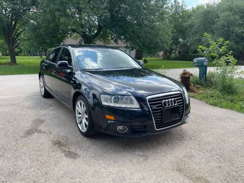 2011 Audi A6 for sale at CARWIN MOTORS in Katy TX
