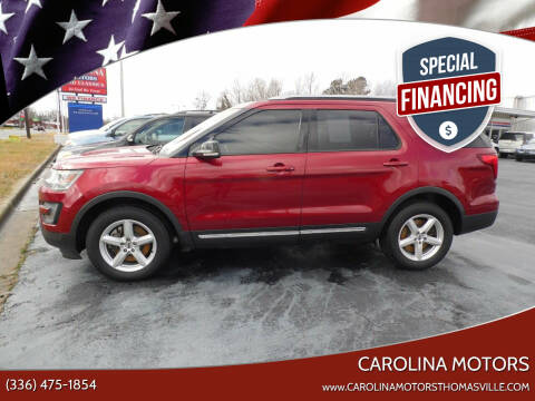 2016 Ford Explorer for sale at CAROLINA MOTORS in Thomasville NC