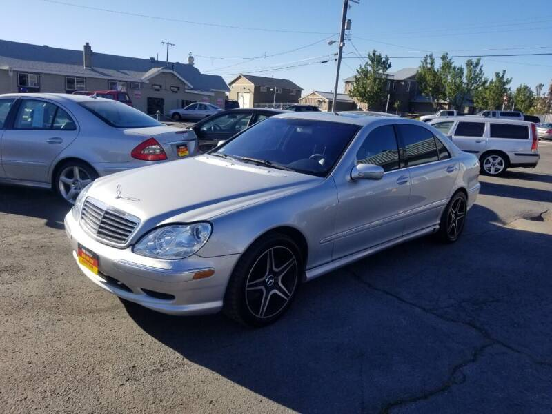 2001 Mercedes-Benz S-Class for sale at Cool Cars LLC in Spokane WA