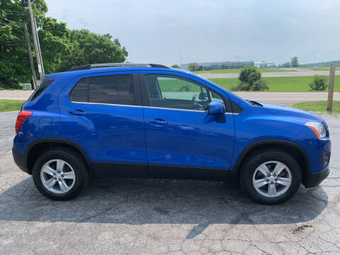 2016 Chevrolet Trax for sale at Westview Motors in Hillsboro OH