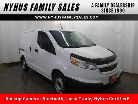 2018 Chevrolet City Express Cargo for sale at Nyhus Family Sales in Perham MN
