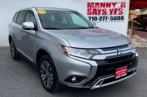 2019 Mitsubishi Outlander for sale at Manny G Motors in San Antonio TX