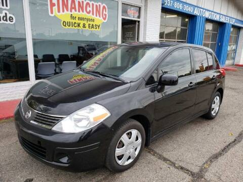 2007 Nissan Versa for sale at AutoMotion Sales in Franklin OH