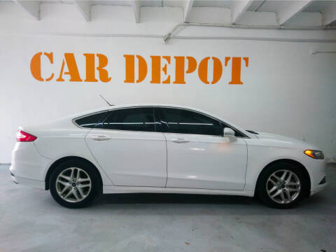 2014 Ford Fusion for sale at Car Depot in Miramar FL