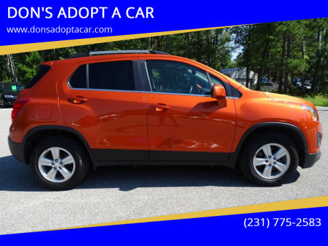 2016 Chevrolet Trax for sale at DON'S ADOPT A CAR in Cadillac MI