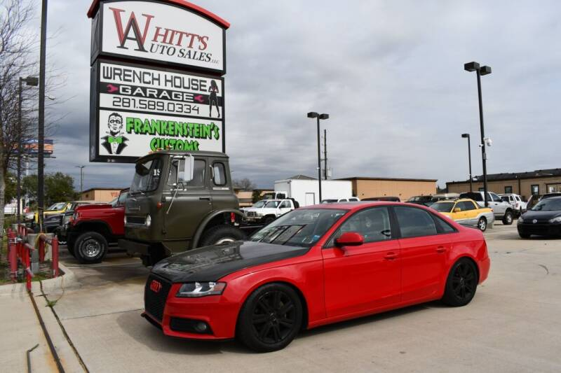 2011 Audi A4 for sale at WHITT'S AUTO SALES, LLC in Houston TX