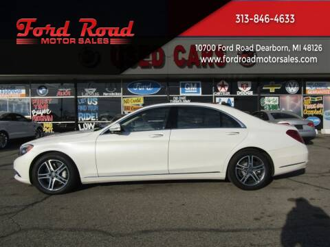 2016 Mercedes-Benz S-Class for sale at Ford Road Motor Sales in Dearborn MI