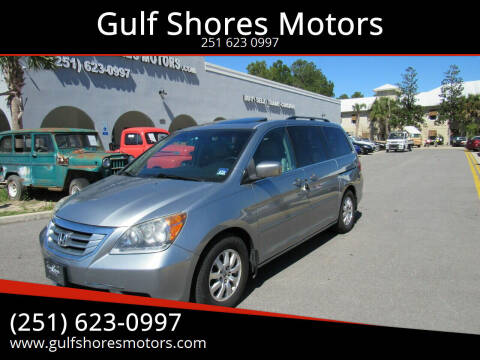 2008 Honda Odyssey for sale at Gulf Shores Motors in Gulf Shores AL